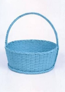 cesta azul